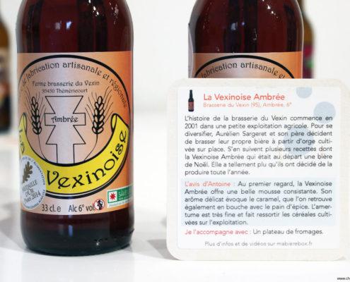 La Vexinoise ambrée récompensée