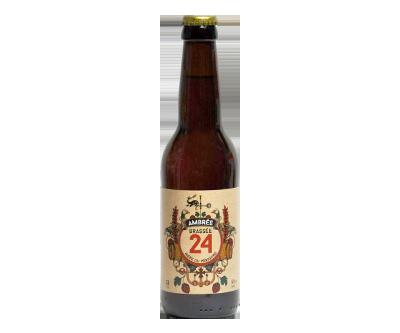 Brassée 24 Ambrée