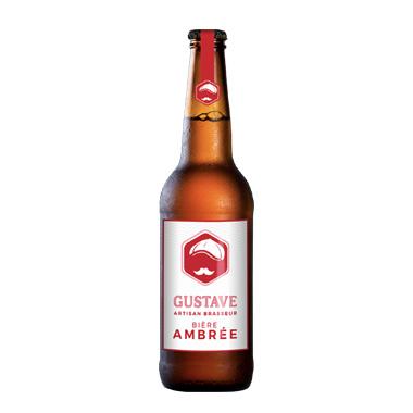 Gustave Ambrée - Au coeur du malt - Ma Bière Box