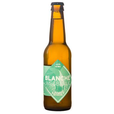 Blanche Lime Basilic - Azimut - Ma Bière Box