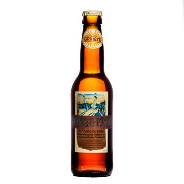 La Grihète Songe-Fête Ambrée - Brasserie Artisanale du Sud - Ma Bière Box