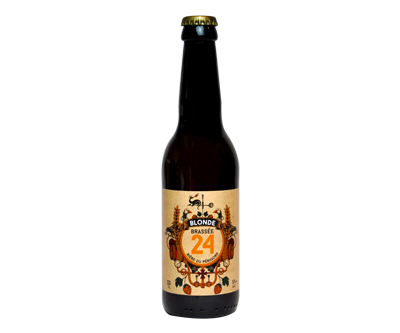 Blonde Brassée 24 - Brasserie de Sarlat - Ma Bière Box