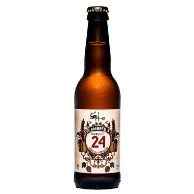 Brassée 24 Ambrée - Brasserie de Sarlat - Ma Bière Box