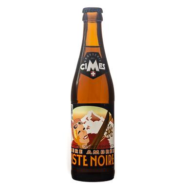 Piste Noire - Brasserie des Cimes - Ma Bière Box