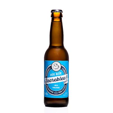 Bière bleue Sacrebleu - Brasserie des Cuves - Ma Bière Box