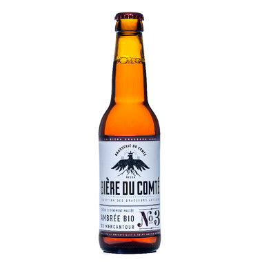 Ambrée Bio du Mercantour - Brasserie du Comté - Ma Bière Box