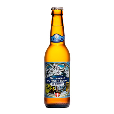 La Blanche - Brasserie du Mont Blanc - Ma Bière Box