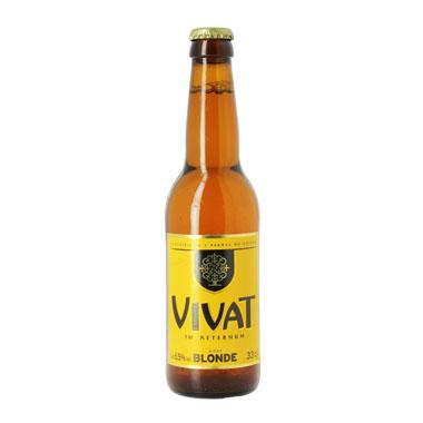 Vivat Blonde - Brasserie Historique de l'Abbaye du Cateau - Ma Bière Box