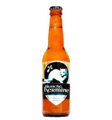 Blanche Hermine - Brasserie Lancelot - Ma Bière Box