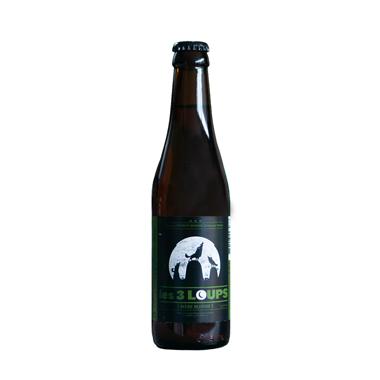 Les 3 loups - Blonde - Brasserie Les 3 loups - Ma Bière Box