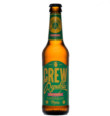 Hop Junkie - CREW Republic Brewery - Ma Bière Box