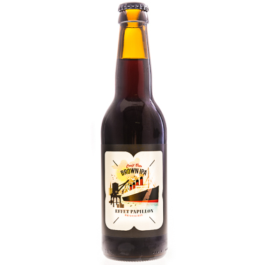 Brown IPA - L'Effet Papillon - Ma Bière Box
