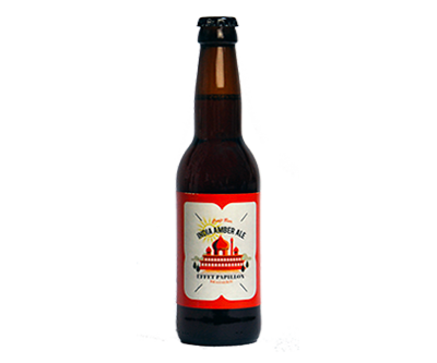 India Amber Ale - L'Effet Papillon - Ma Bière Box