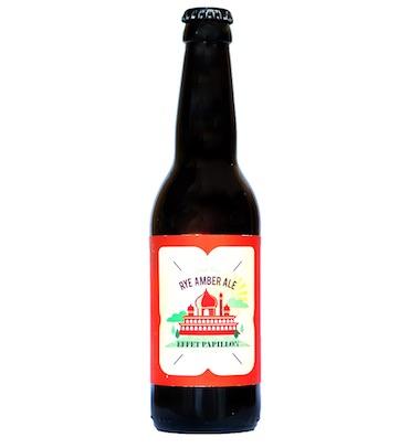 Rye Amber Ale - L'Effet Papillon - Ma Bière Box