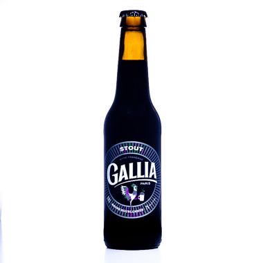 Gallia American Stout - Gallia Paris - Ma Bière Box