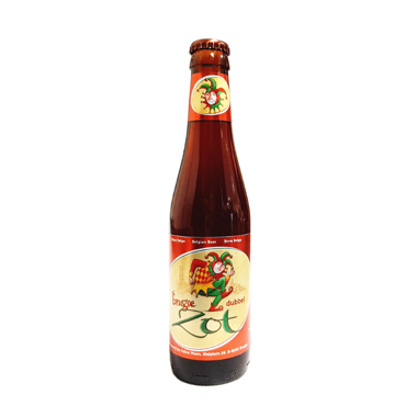 Brugse Zot Brune - Halve Maan - Ma Bière Box