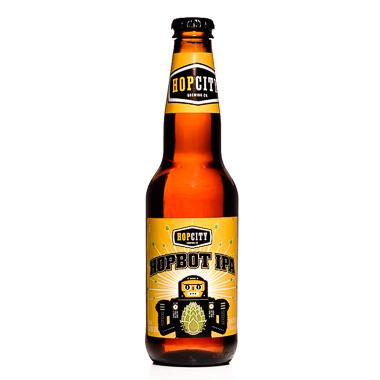 Hopbot IPA - Hop City Brewing Company - Ma Bière Box