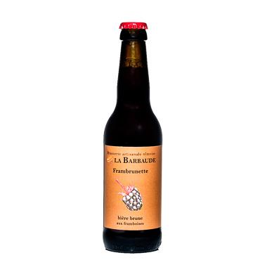 La frambrunette - La Barbaude - Ma Bière Box