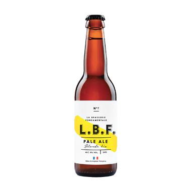 L.B.F. blonde - La Brasserie Fondamentale - Ma Bière Box