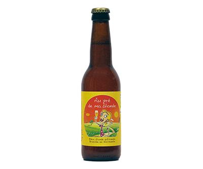 Au Pré de ma blonde - La Lie - Ma Bière Box