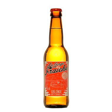 La Gorge Fraîche Blonde - Les Piliers du Sud - Ma Bière Box
