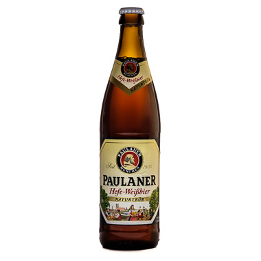 Paulaner Hefe-Weissbier - Paulaner Brauerei - Ma Bière Box