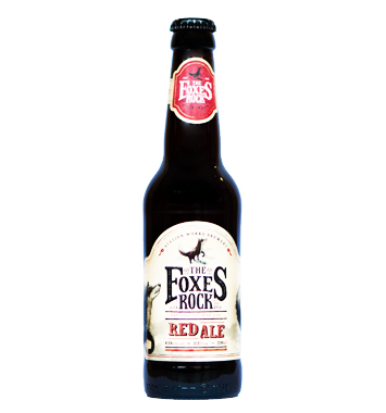 Foxes Rock Red Ale - Station Works brewery - Ma Bière Box