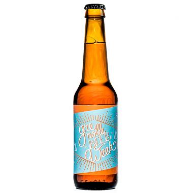 American IPA  au seigle - N°2 de la GBW - Une Petite Mousse et Guillaume Eck - Ma Bière Box