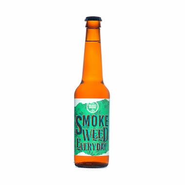 Smoke Weed Everyday - Une Petite Mousse - Ma Bière Box